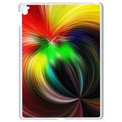 Circle Lines Wave Star Abstract Apple Ipad Pro 9 7   White Seamless Case