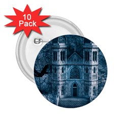 Church Stone Rock Building 2 25  Buttons (10 Pack)