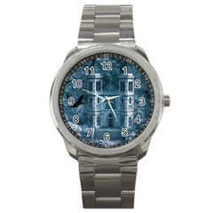 Church Stone Rock Building Sport Metal Watch