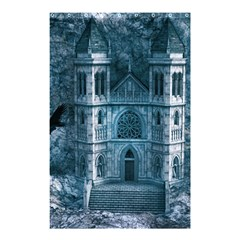 Church Stone Rock Building Shower Curtain 48  X 72  (small)