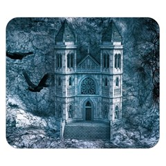 Church Stone Rock Building Double Sided Flano Blanket (small)