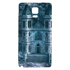 Church Stone Rock Building Galaxy Note 4 Back Case