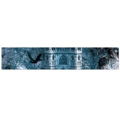 Church Stone Rock Building Large Flano Scarf
