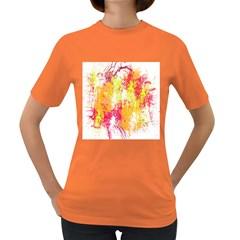 Painting Spray Brush Paint Women s Dark T Shirt