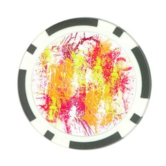 Painting Spray Brush Paint Poker Chip Card Guard (10 Pack)