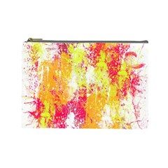 Painting Spray Brush Paint Cosmetic Bag (large)