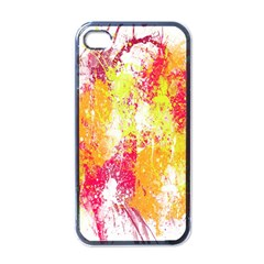 Painting Spray Brush Paint Apple Iphone 4 Case (black)