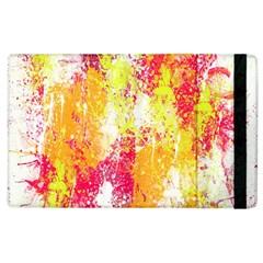 Painting Spray Brush Paint Apple Ipad 2 Flip Case