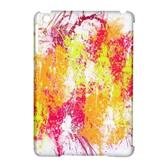 Painting Spray Brush Paint Apple Ipad Mini Hardshell Case (compatible With Smart Cover)