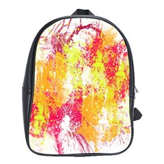 Painting Spray Brush Paint School Bag (xl)