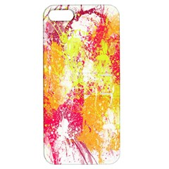 Painting Spray Brush Paint Apple Iphone 5 Hardshell Case With Stand