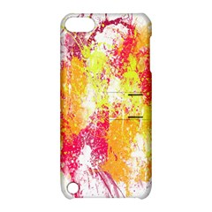 Painting Spray Brush Paint Apple Ipod Touch 5 Hardshell Case With Stand