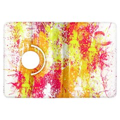 Painting Spray Brush Paint Kindle Fire Hdx Flip 360 Case