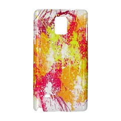 Painting Spray Brush Paint Samsung Galaxy Note 4 Hardshell Case