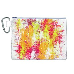 Painting Spray Brush Paint Canvas Cosmetic Bag (xl)