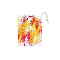 Painting Spray Brush Paint Drawstring Pouches (xs)