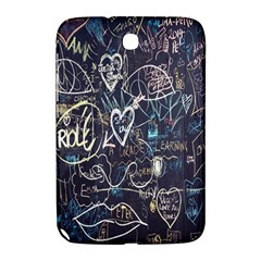 Graffiti Chalkboard Blackboard Love Samsung Galaxy Note 8 0 N5100 Hardshell Case