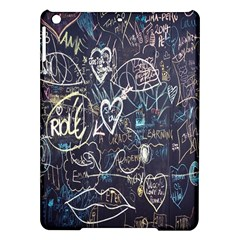 Graffiti Chalkboard Blackboard Love Ipad Air Hardshell Cases