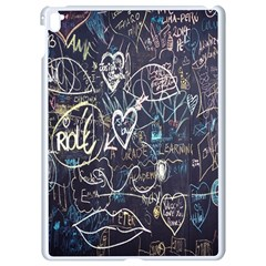 Graffiti Chalkboard Blackboard Love Apple Ipad Pro 9 7   White Seamless Case