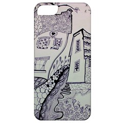 Doodle Drawing Texture Style Apple Iphone 5 Classic Hardshell Case