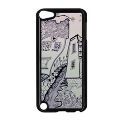 Doodle Drawing Texture Style Apple Ipod Touch 5 Case (black)