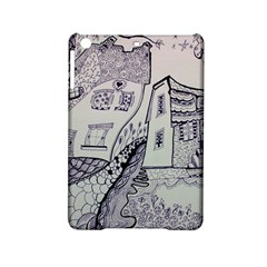 Doodle Drawing Texture Style Ipad Mini 2 Hardshell Cases