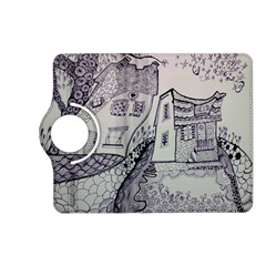 Doodle Drawing Texture Style Kindle Fire Hd (2013) Flip 360 Case