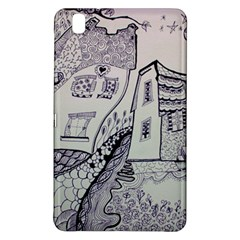 Doodle Drawing Texture Style Samsung Galaxy Tab Pro 8 4 Hardshell Case