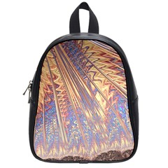 Flourish Artwork Fractal Expanding School Bag (small)