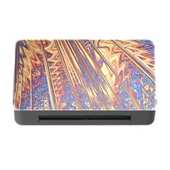 Flourish Artwork Fractal Expanding Memory Card Reader With Cf