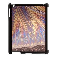 Flourish Artwork Fractal Expanding Apple Ipad 3/4 Case (black)