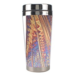 Flourish Artwork Fractal Expanding Stainless Steel Travel Tumblers