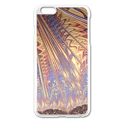 Flourish Artwork Fractal Expanding Apple Iphone 6 Plus/6s Plus Enamel White Case