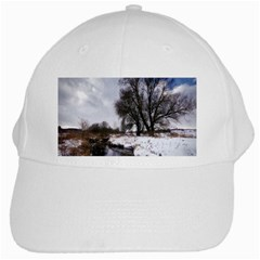 Winter Bach Wintry Snow Water White Cap