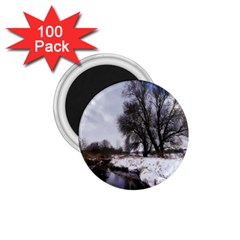 Winter Bach Wintry Snow Water 1 75  Magnets (100 Pack)