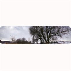 Winter Bach Wintry Snow Water Large Bar Mats