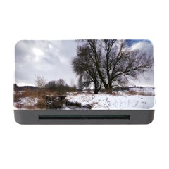Winter Bach Wintry Snow Water Memory Card Reader With Cf