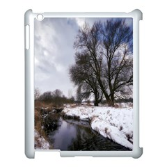 Winter Bach Wintry Snow Water Apple Ipad 3/4 Case (white)