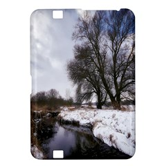 Winter Bach Wintry Snow Water Kindle Fire Hd 8 9