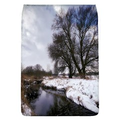 Winter Bach Wintry Snow Water Flap Covers (l)