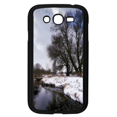 Winter Bach Wintry Snow Water Samsung Galaxy Grand Duos I9082 Case (black)