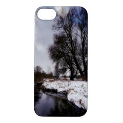Winter Bach Wintry Snow Water Apple Iphone 5s/ Se Hardshell Case