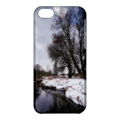 Winter Bach Wintry Snow Water Apple Iphone 5c Hardshell Case