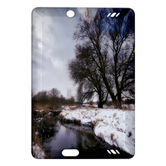 Winter Bach Wintry Snow Water Amazon Kindle Fire Hd (2013) Hardshell Case