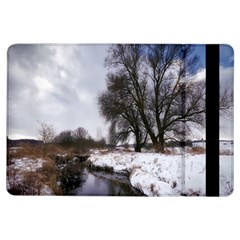 Winter Bach Wintry Snow Water Ipad Air Flip