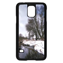 Winter Bach Wintry Snow Water Samsung Galaxy S5 Case (black)