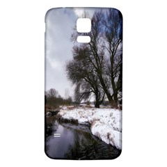 Winter Bach Wintry Snow Water Samsung Galaxy S5 Back Case (white)