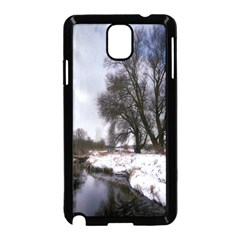 Winter Bach Wintry Snow Water Samsung Galaxy Note 3 Neo Hardshell Case (black)