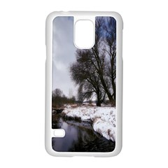 Winter Bach Wintry Snow Water Samsung Galaxy S5 Case (white)