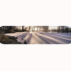 Winter Lake Cold Wintry Frozen Large Bar Mats